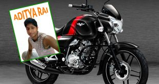'Aditya Rai' Wins the Bajaj V12 in our Latest Winabike Competition!
