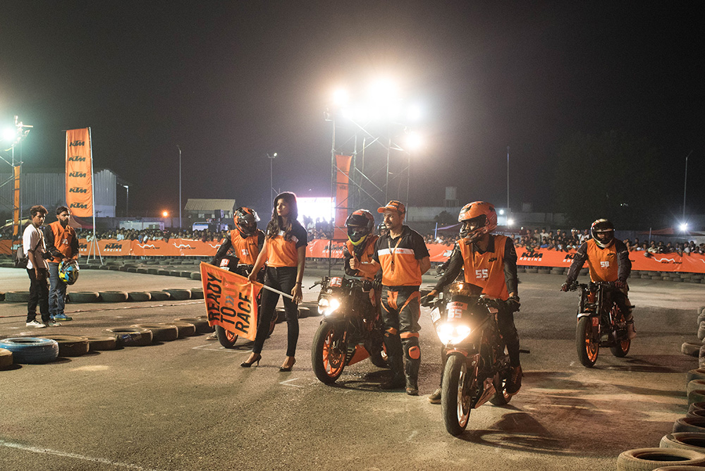 Motorbikes India at the KTM Orange Day – Goa