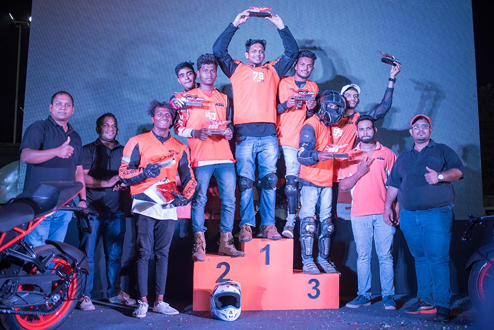 Motorbikes India at the KTM Orange Day – Goa