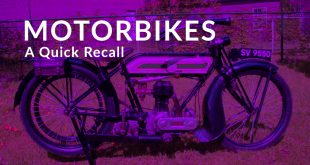 Motorbikes - A Quick Recall Part 1