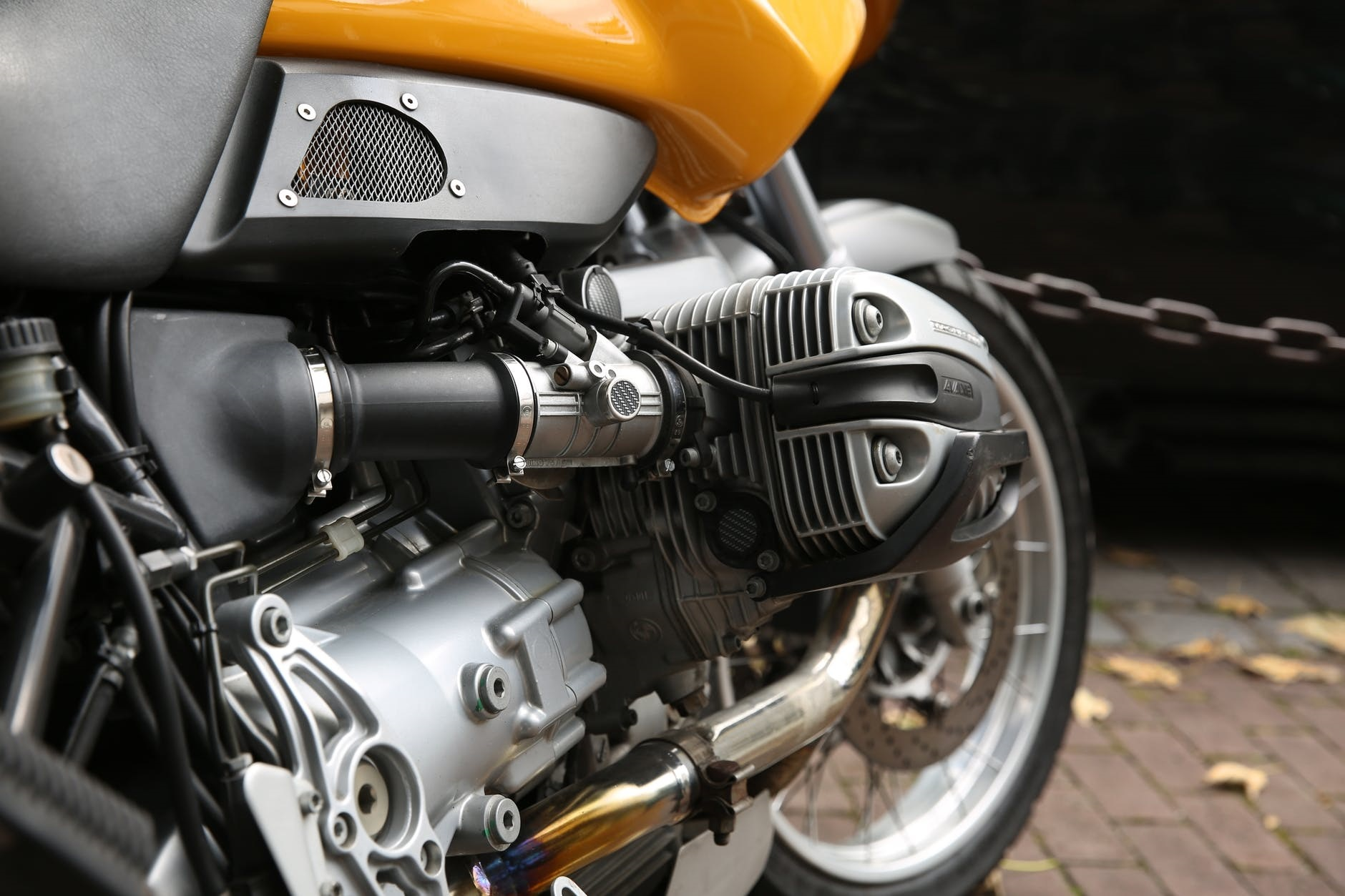 The Basic Components of a Motorbike