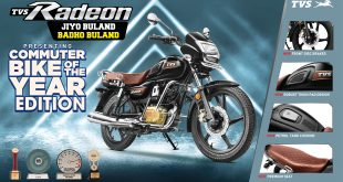 The Commuter Bike of the Year – TVS Radeon