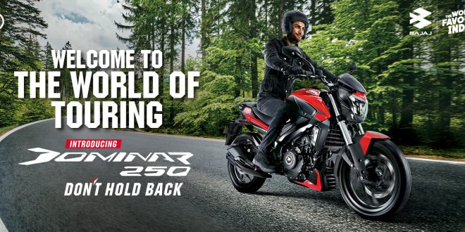 The New Bajaj Dominar 250